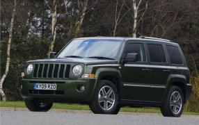 Bilmåtter Jeep Patriot.